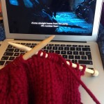 Knitting and The Killing Not sure the two really gohellip
