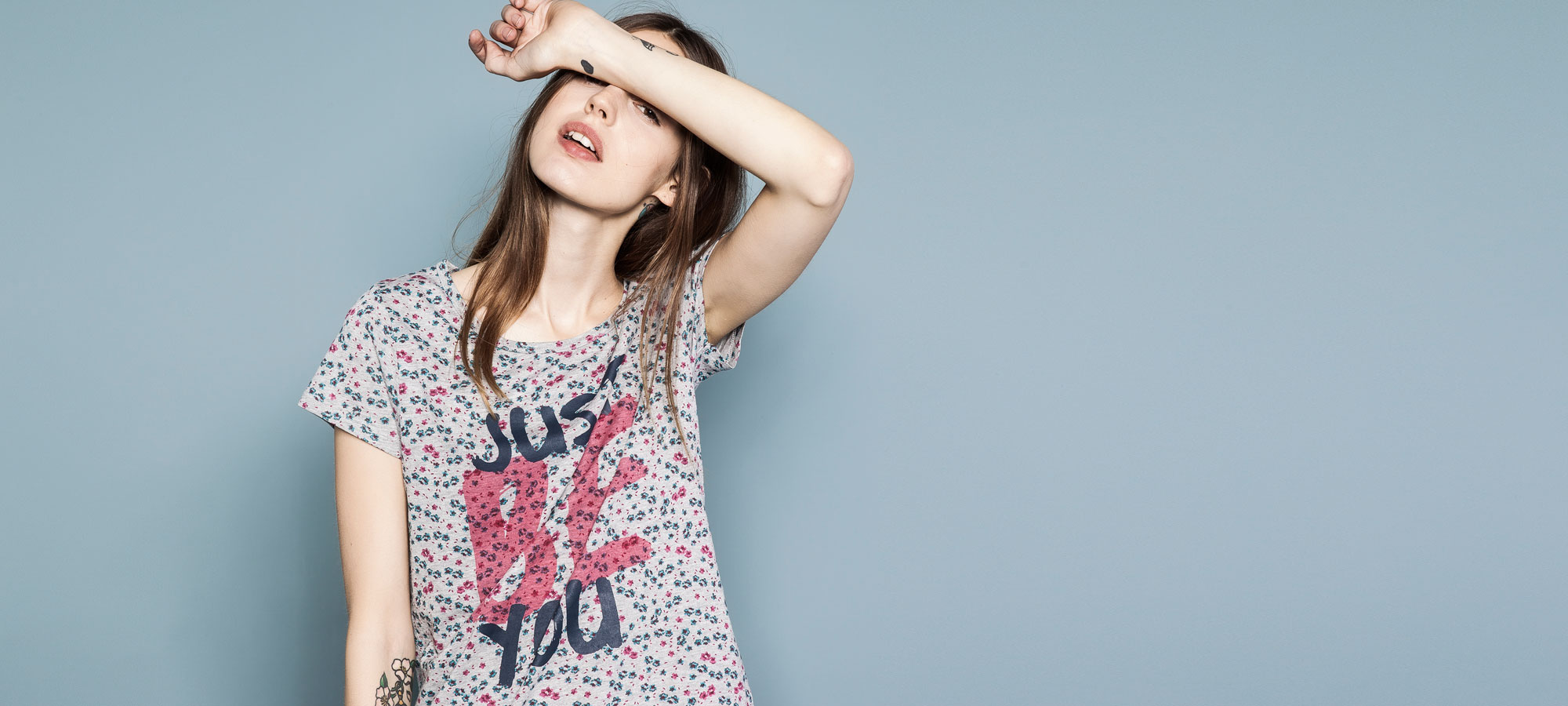 T-shirt, £9.99, Pull & Bear