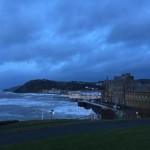 Aberystwyth looking rather stormy today