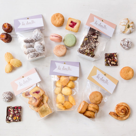 Sweet treats subscription, £45, La Dinette Macarons on Etsy
