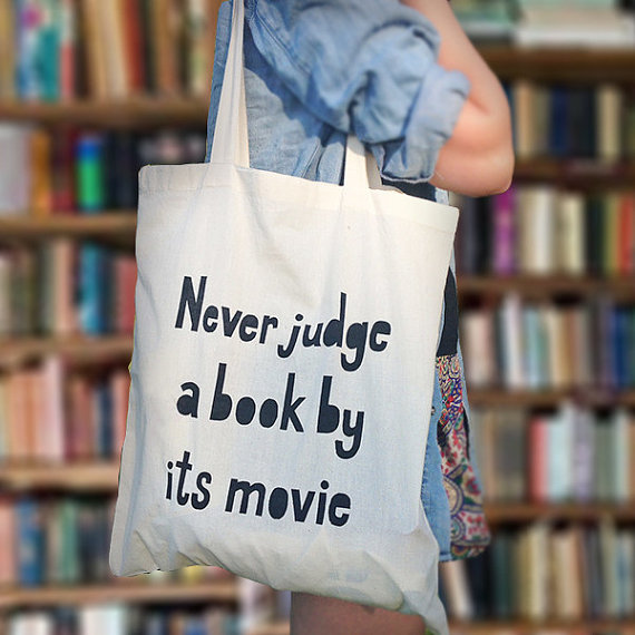 Book bag, £6.99, Book Lovers Gifts on Etsy