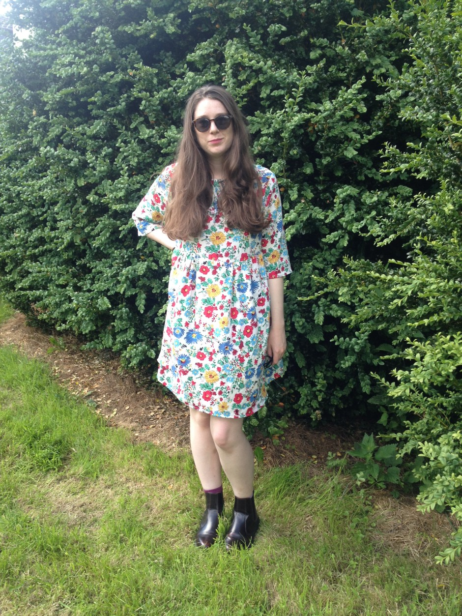 Sudley dress floral