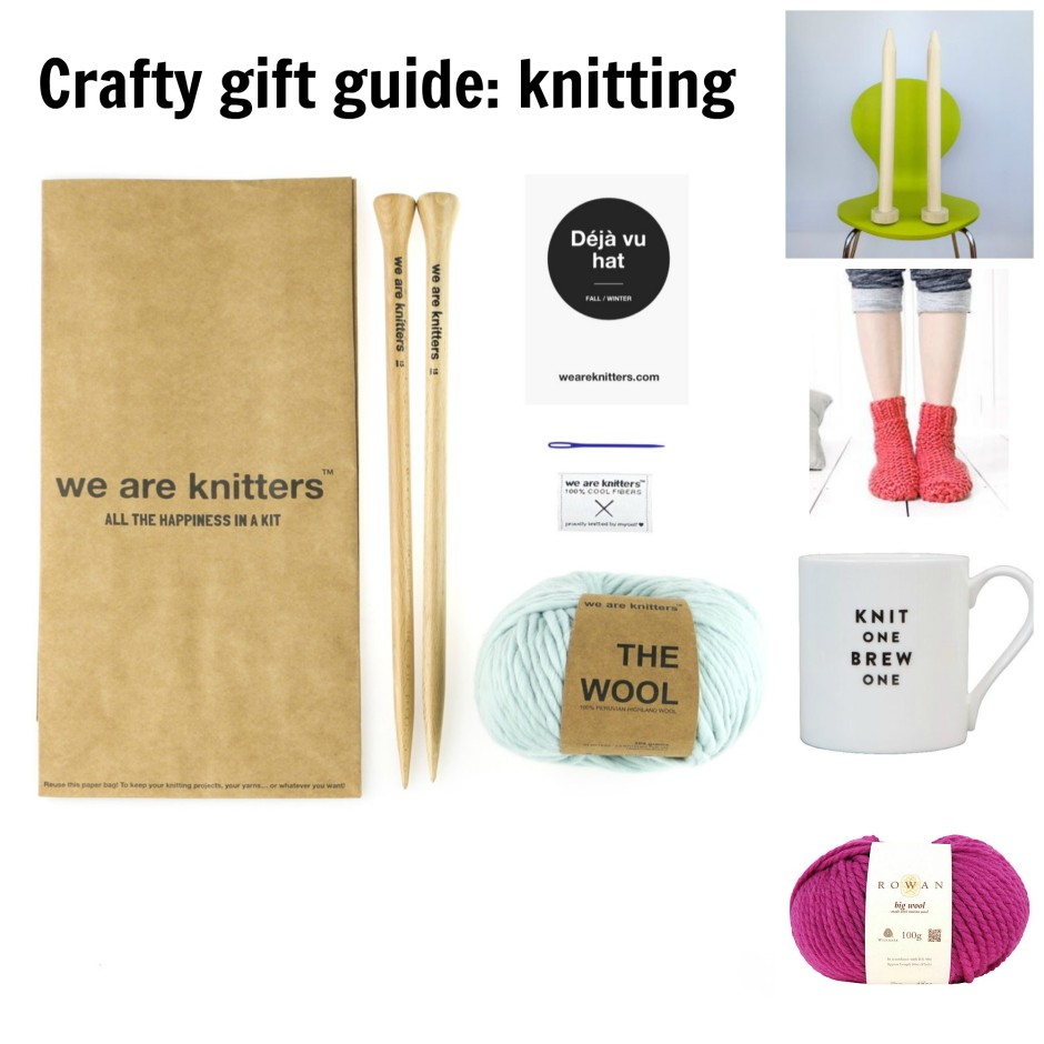 crafty gift guide knitting And She Made