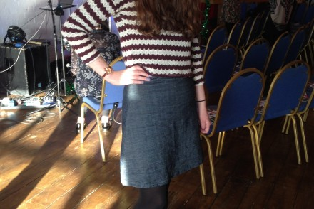 Tilly and the Buttons Delphine skirt And She Made