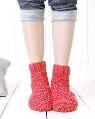 Stitch and Story knitted slumber socks