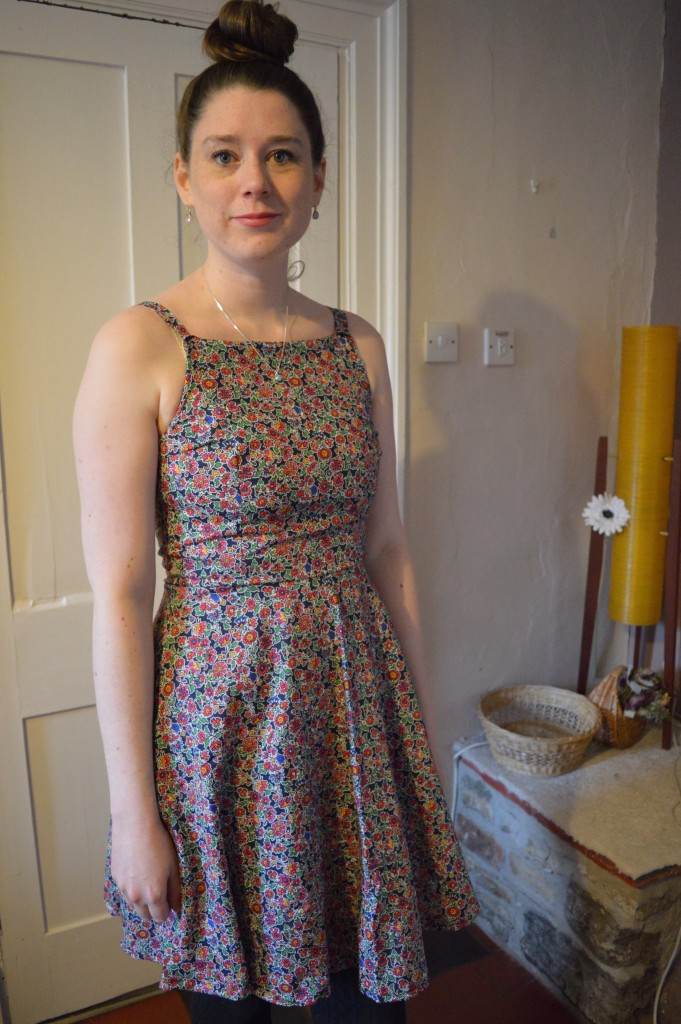 And She Made By Hand London Flora dress