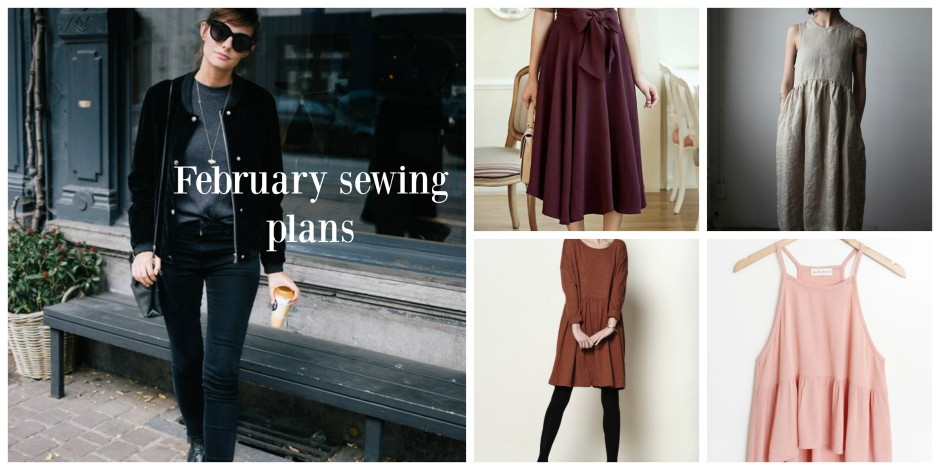 February sewing plans And She Made