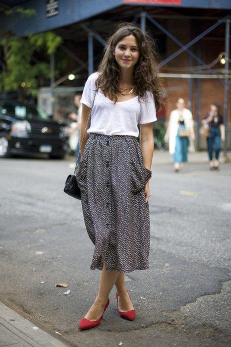 And She Made skirt inspiration