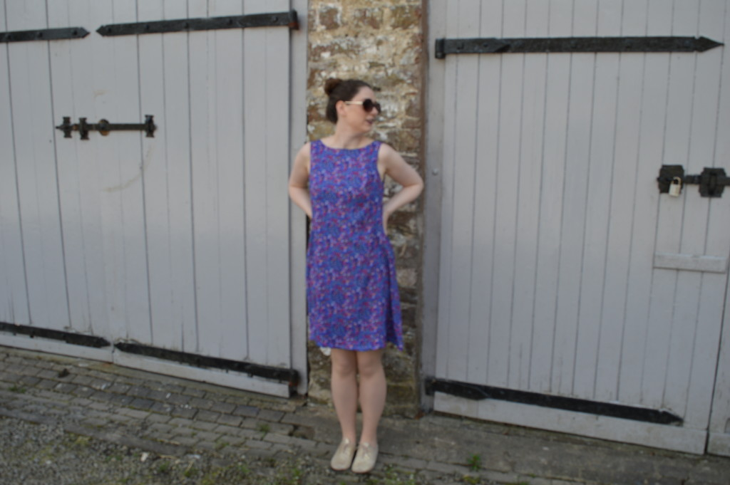 Purple New Look 6866 dress