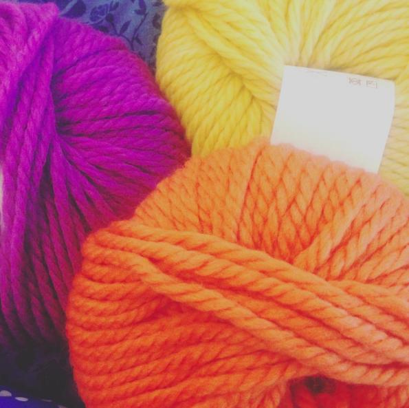 Knitting And She Made