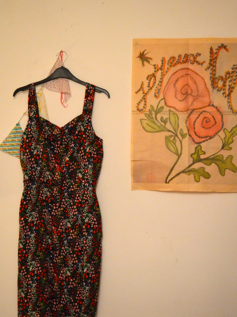 Winter florals dress And She Made