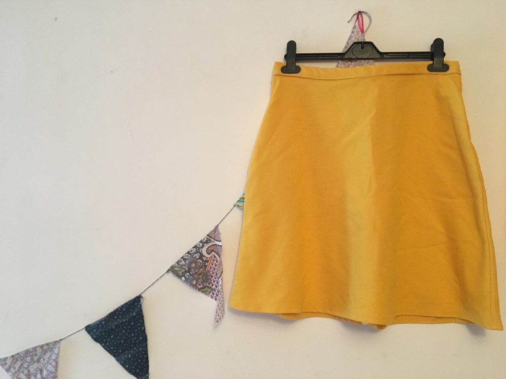 Mellow yellow skirt And She Made