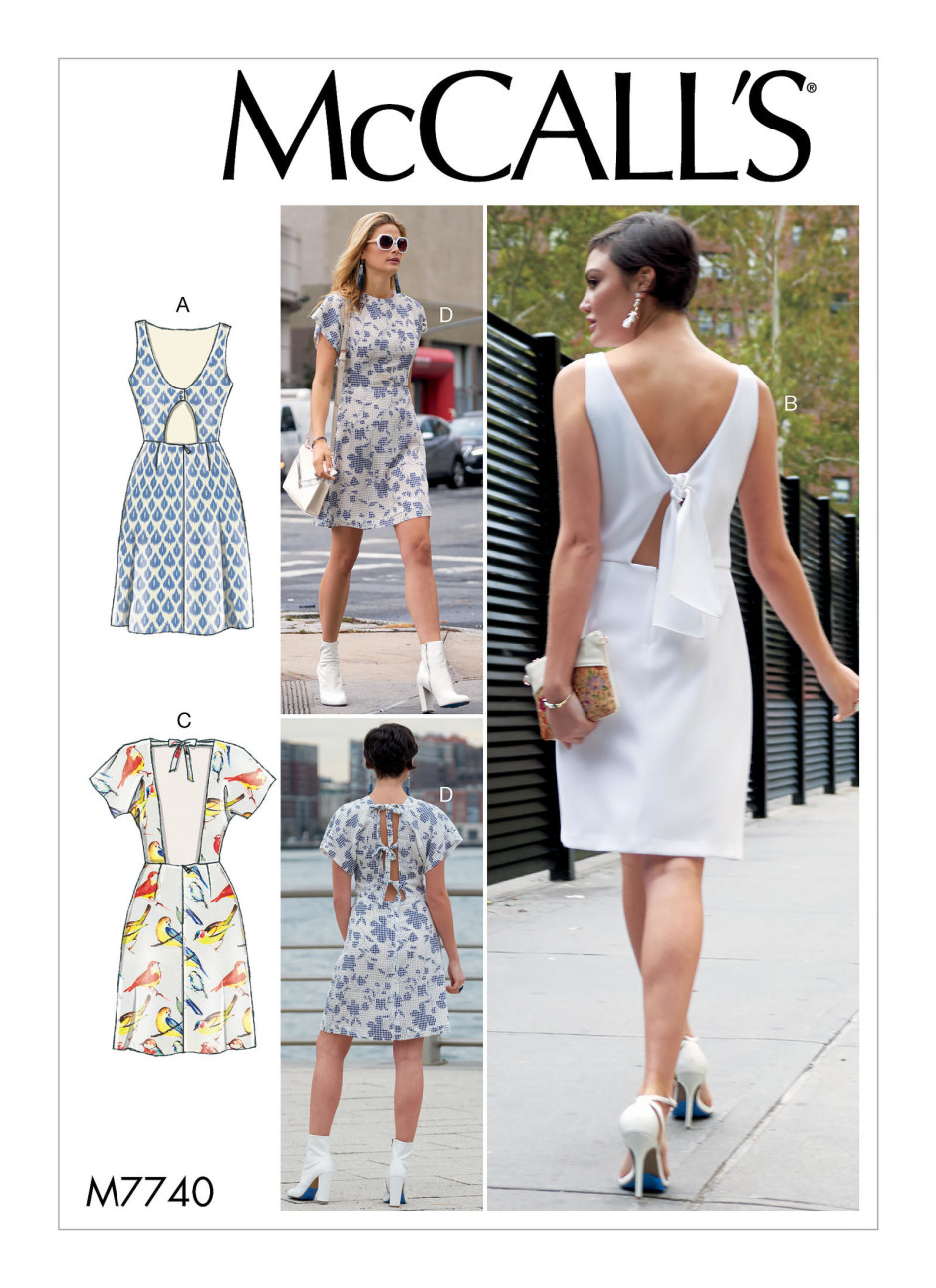 McCalls spring 2018 sewing patterns