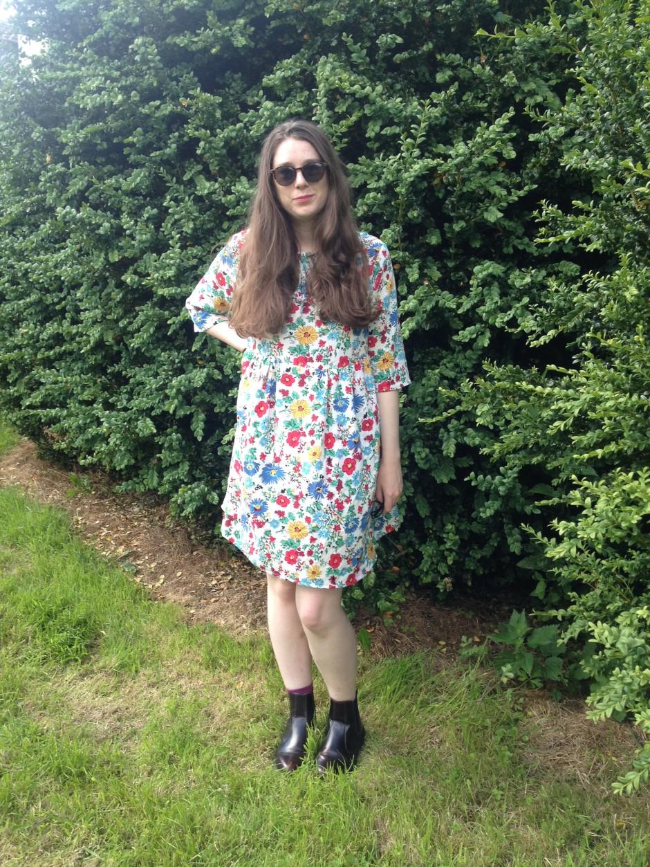 Sudley dress floral