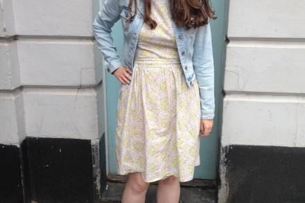 Dixie DIY Bonnell dress