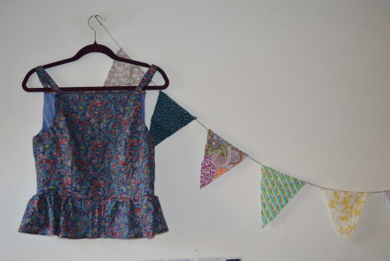 Flora top And She Made