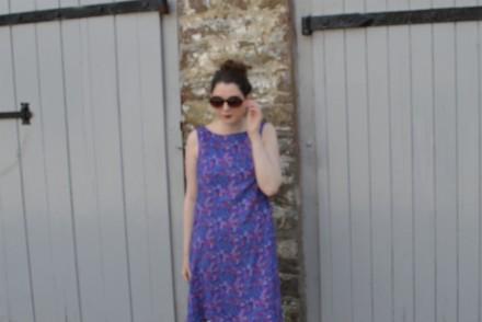 Purple dress NL6866
