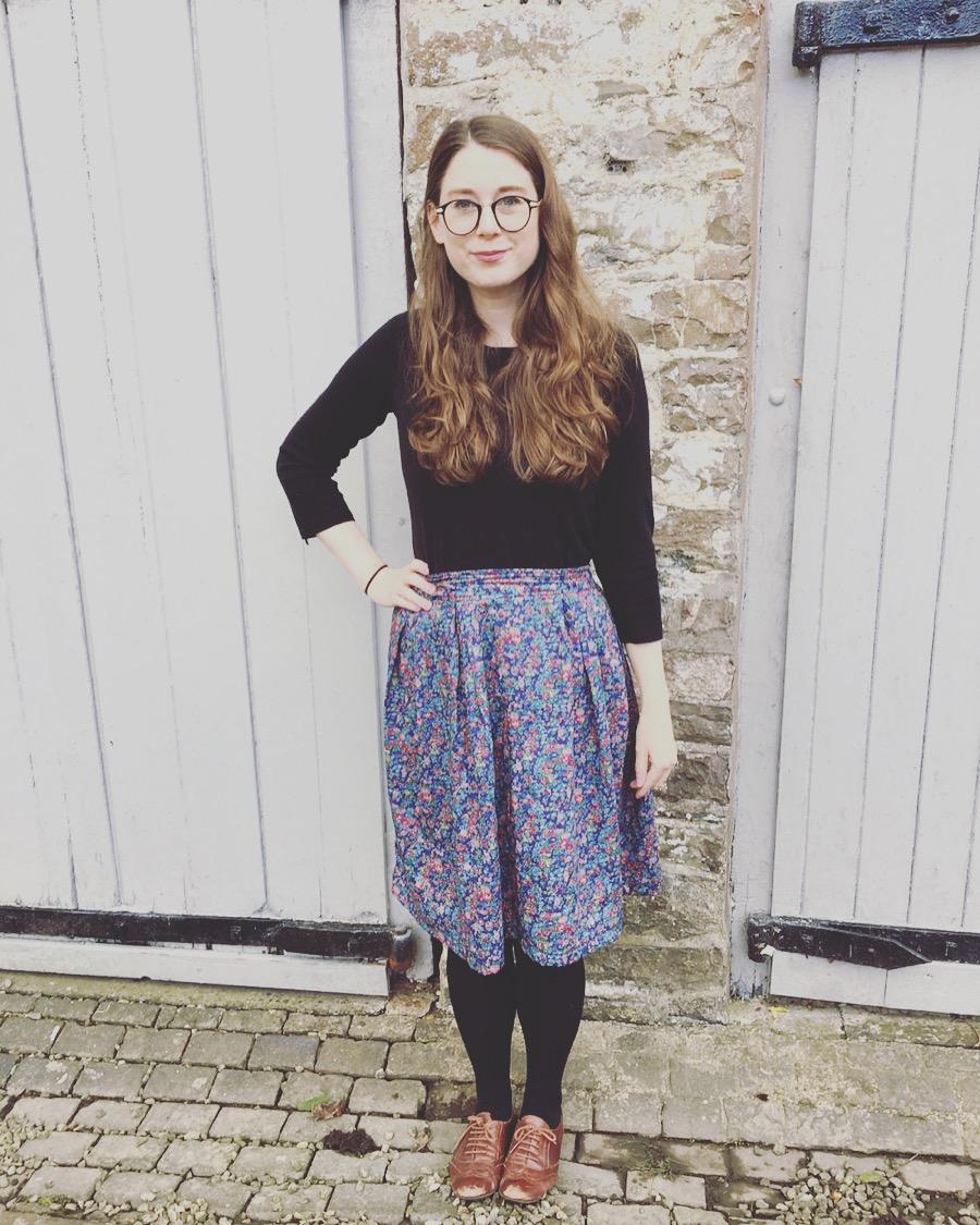 Liberty skirt And She Made