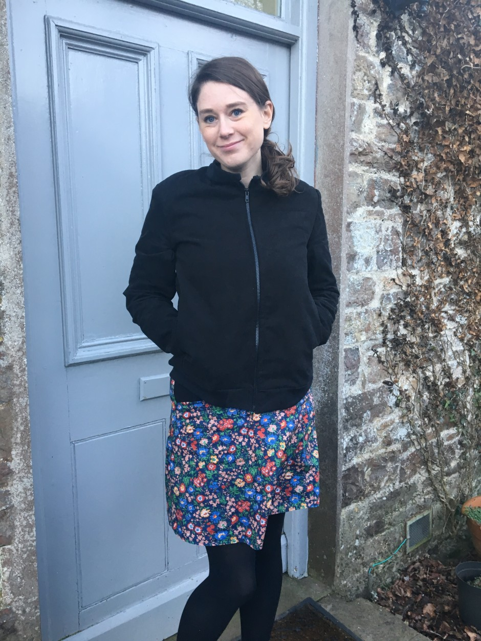 And She Made bomber jacket